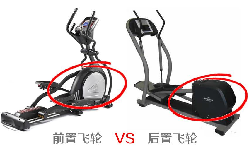 椭圆机前置飞轮和后置飞轮有什么区别?哪个好